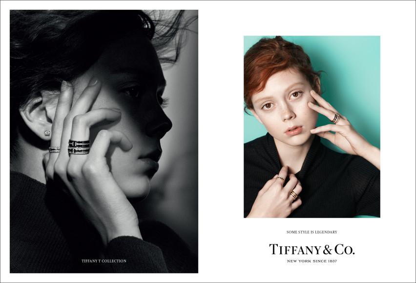 Модель Натали Вестлинг в новой рекламной кампании Tiffany & Co.