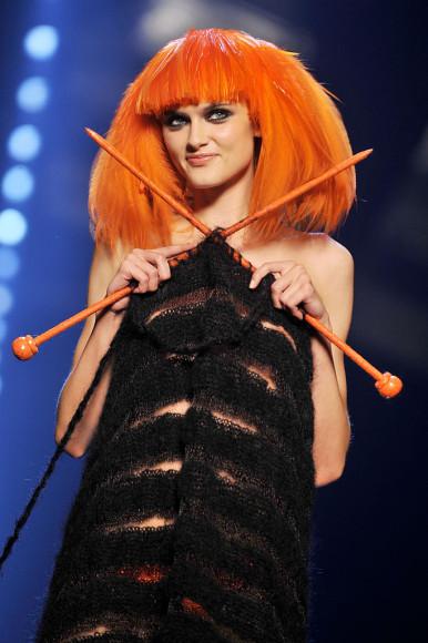 Образ Jean Paul Gaultier с юбилейного показа Sonia Rykiel
