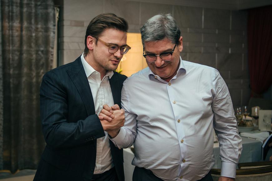 Борис Зарьков и Нино Грациано