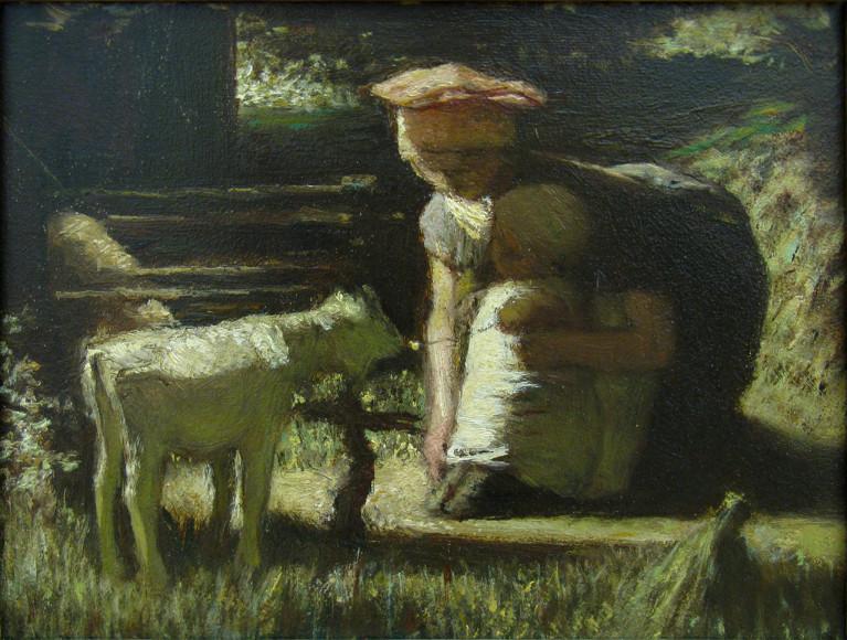 МаттейсМарис. «Знакомство», 1865-1866