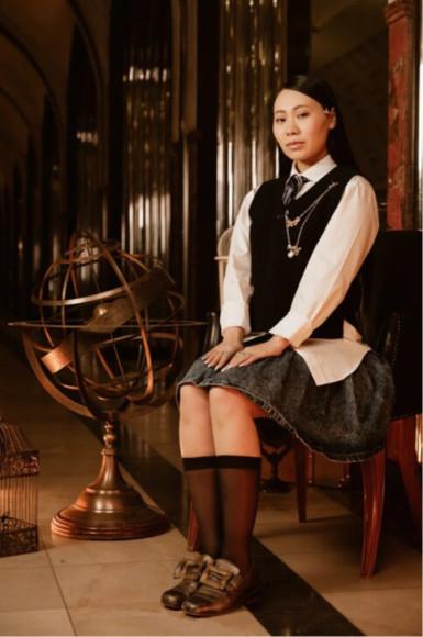 Ян Гэ в ролиЧжоу Чанг