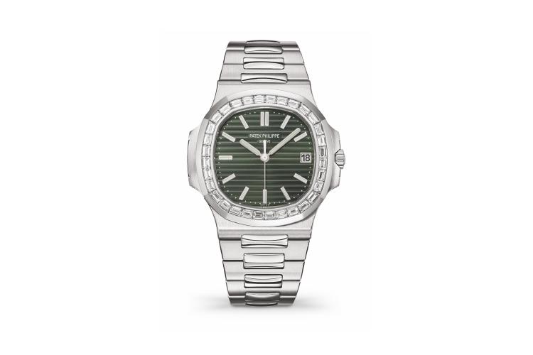 Часы Naultilus, Ref. 5711, сталь, бриллианты, Patek Philippe