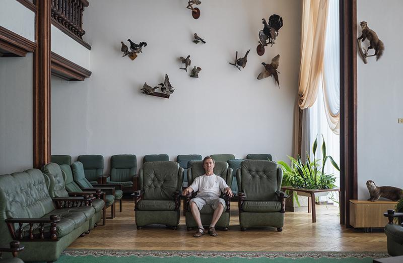 Дмитрий Лукьянов. Санаторий «Амра Интернешнл». Абхазия, 2016.