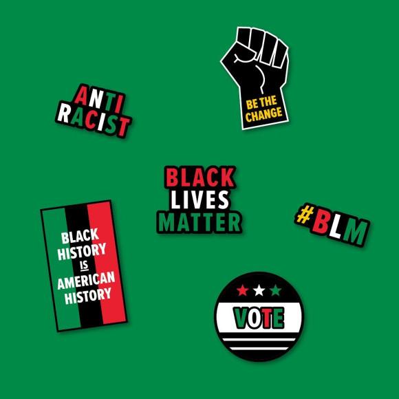 Джибитсы в поддержку движения Black Lives Matter