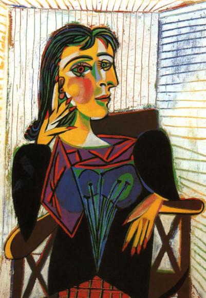 Пабло Пикассо. «Портрет Доры Маар», 1937