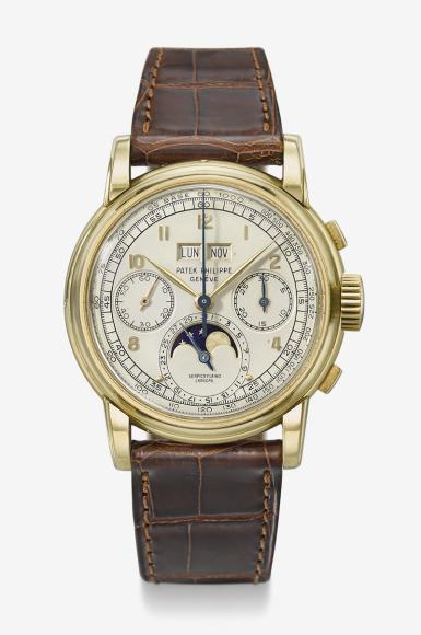 Часы Ref 2499, Patek Philippe. Эстимейт 1,5–2,5 млн швейцарских франков, проданы за 3 252 500 швейцарских франков