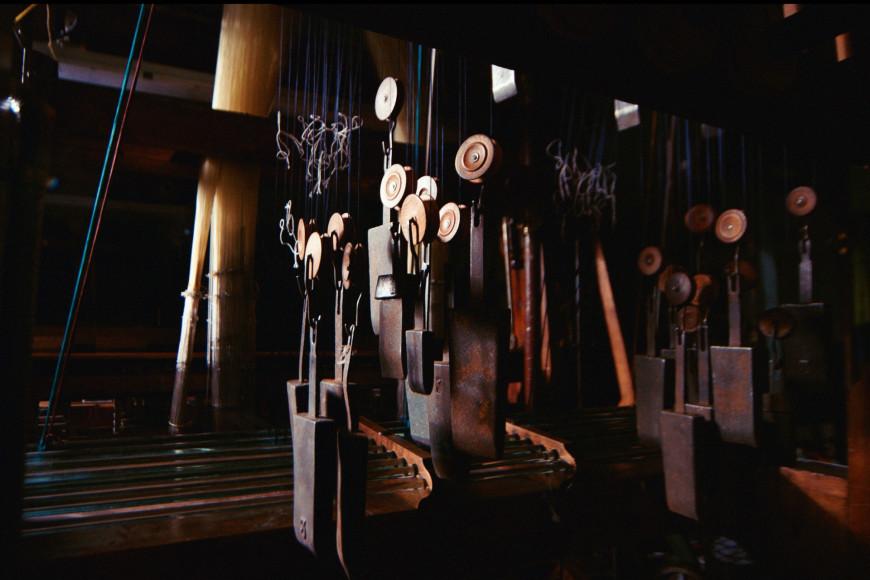 Ткацкие станки на производстве Julien Faure