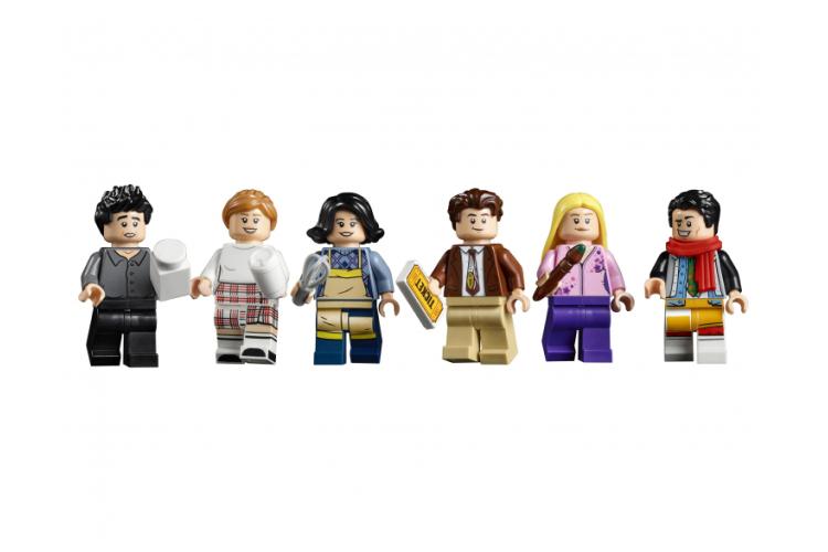 Набор Lego с квартирами героев сериала «Друзья»