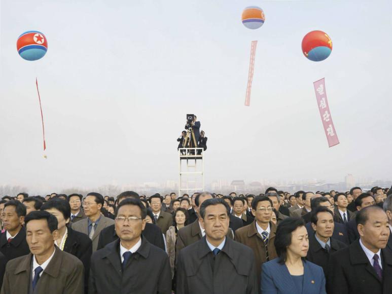 Филипп Шансель. Мансудэ. Празднование 100-летия со дня рождения Ким Ир Сена. 15 апреля, 2012