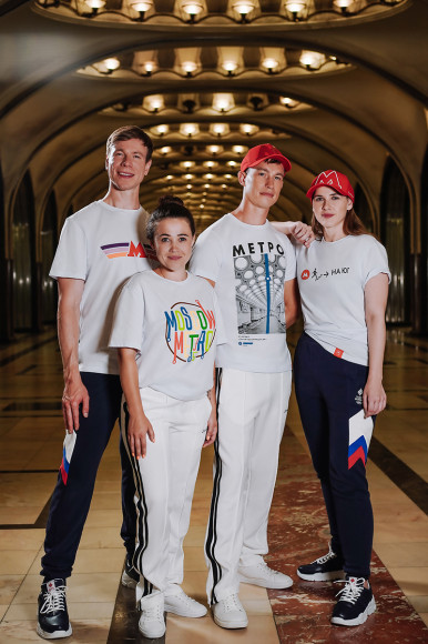 Коллаборация марки Zasport и Московского метрополитена