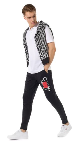 Худи и джоггеры из органического хлопка, Calvin Klein Jeans