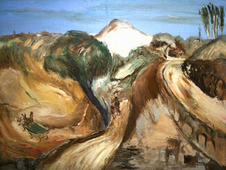 А. Д. Древин. В горах Армении, 1933