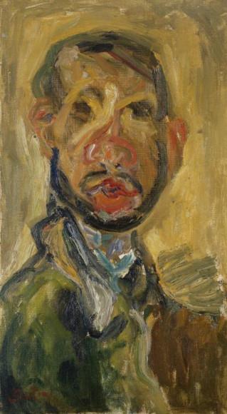 Хаим Сутин. «Автопортрет», 1920–1921