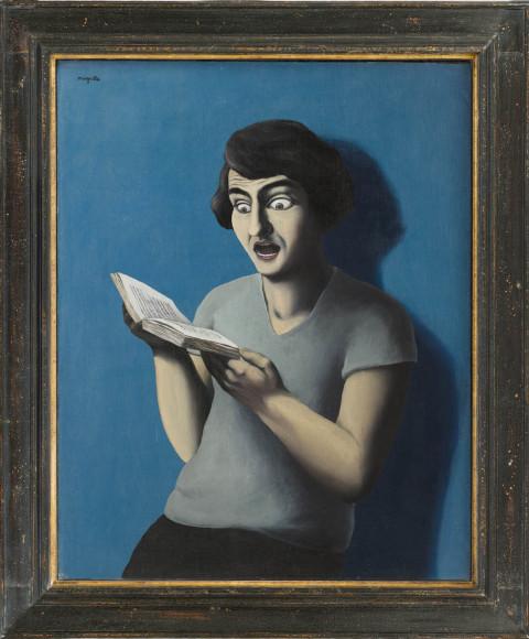 Рене Магритт.«Покорный читатель», 1928