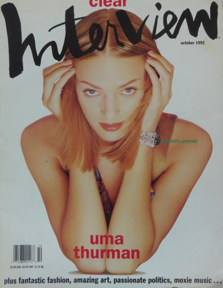 Ума Турман, обложка 1992 года