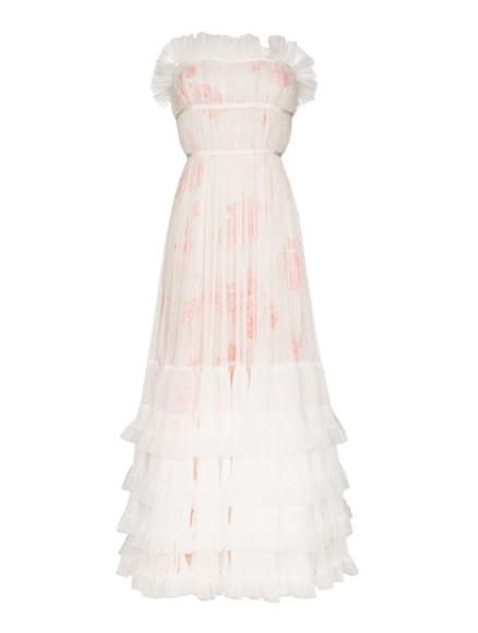 Платье Giambattista Valli, 213 279 руб. (farfetch.com)