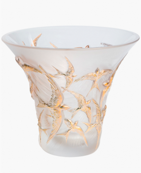 Ваза Hirondelles, Lalique, 566 000 руб.