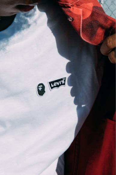 Третья часть коллаборации Levi's X Bape