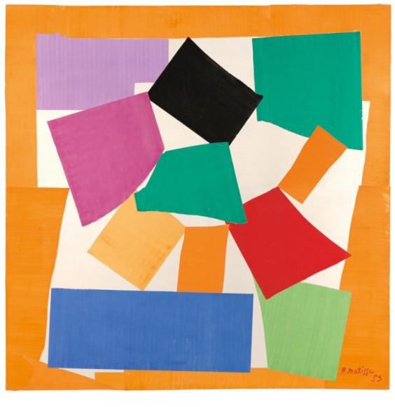 Henri Matisse. «The Snail», 1953 г.