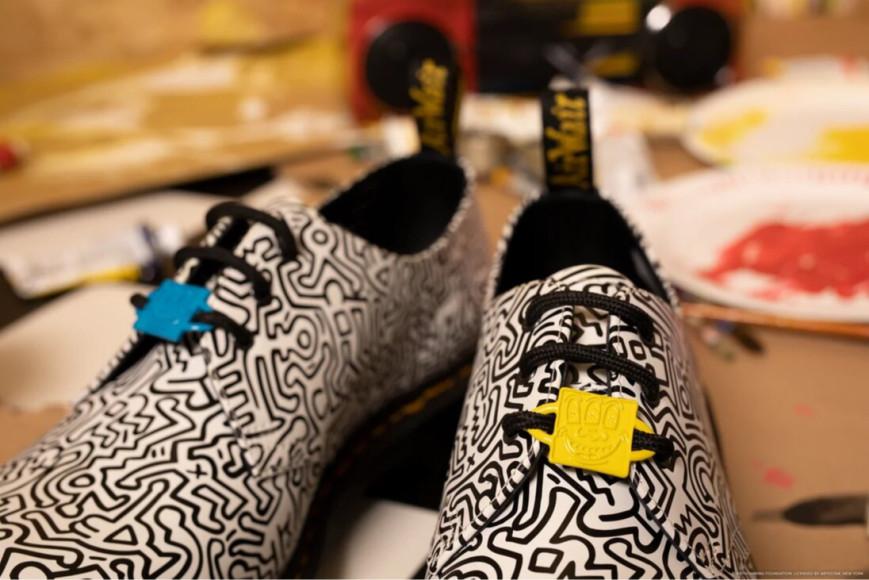 Коллаборация Dr. Martens X Keith Haring