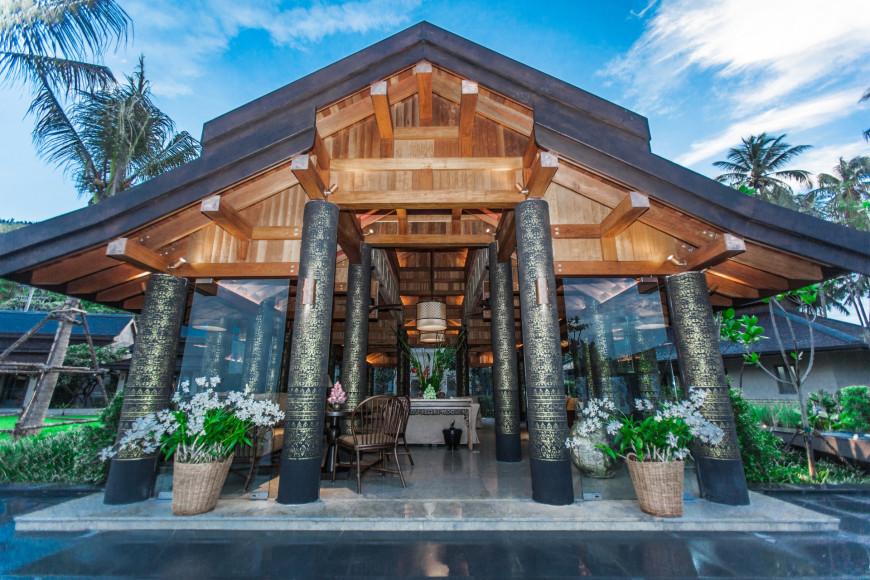 Вход в лобби(ANI Private Resorts Thailand)