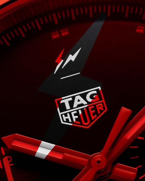 Часы TAG Heuer, созданные в сотрудничестве сХироши Фудживарой