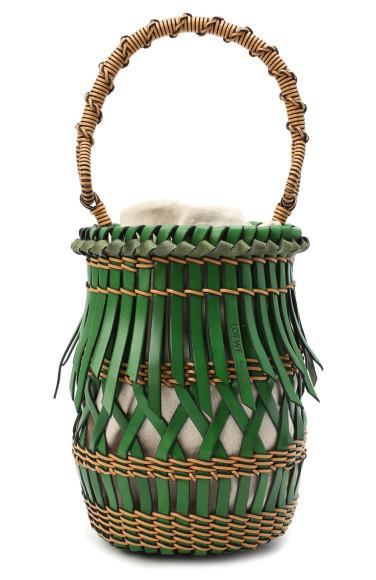 Cумка-ведро Fringes Bucket, Loewe, 144 000 руб.