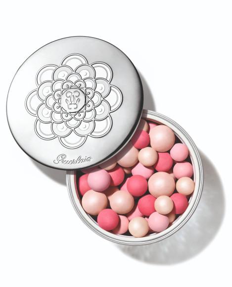 Пудра Météorites Pink Pearl, Pearl Glow, Guerlain