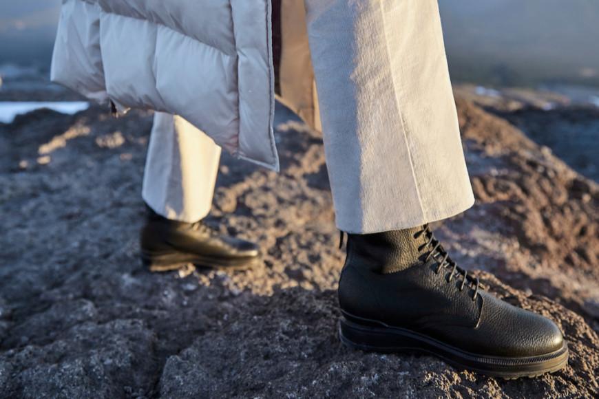 Коллекция обуви Woolrich