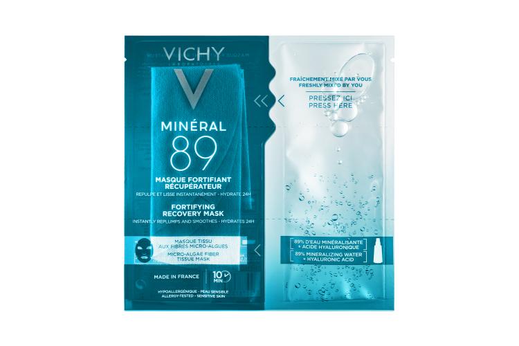 Эспресс-маска с водорослями Mineral 89, Vichy