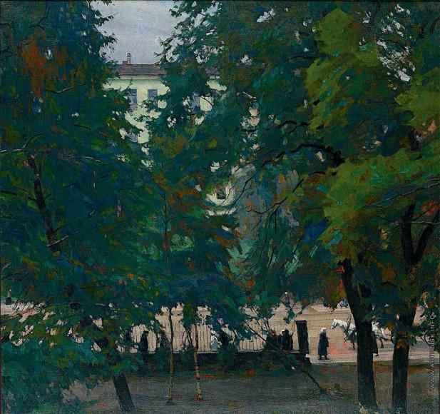 ГеоргийВерейский. «В городе», 1922