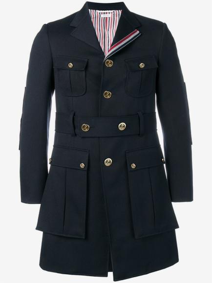 Пальто Thom Browne (Farfetch)