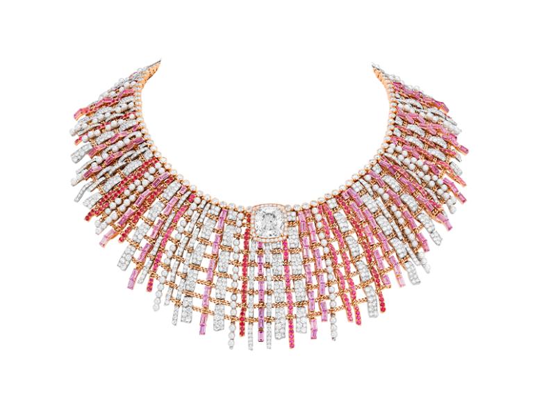 Колье Tweed de Chanel, Chanel Fine Jewelry