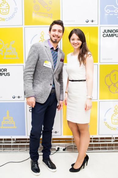 Алексей Зимин (главный редактор РБК Lifestyle), Екатерина Поликовская (BMW Group Russia)