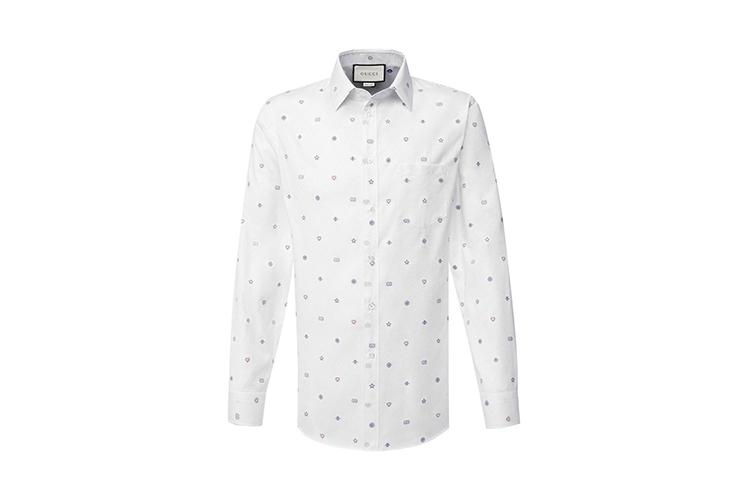Рубашка Gucci, 41 750 руб. (ЦУМ)
