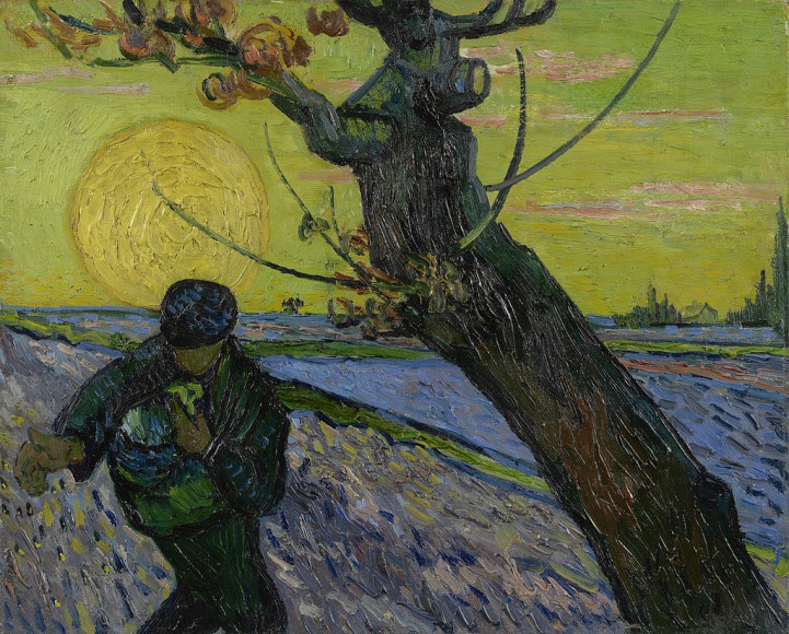 Ван Гог. «Сеятель», 1888