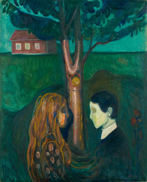 Эдвард Мунк. «Eye in Eye», 1899-1900