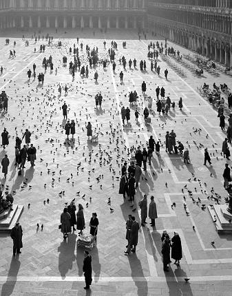 Элио Чиол. Площадь Сан-Марко. Венеция, 1955