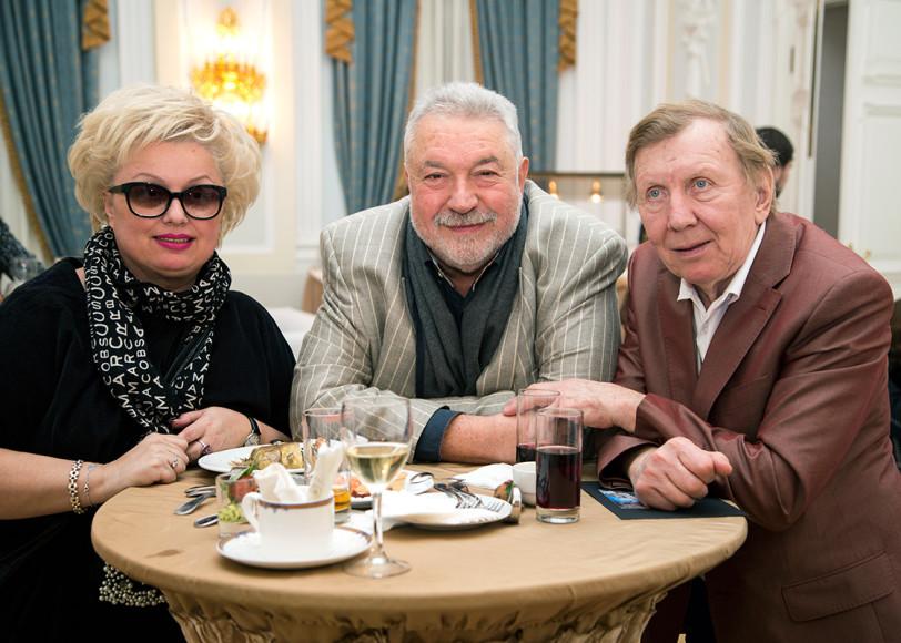 Ирина Громова, Юлий Гусман и Юрий Чернов