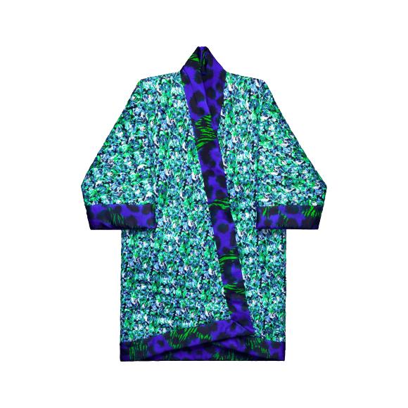 Пальто-халат Kenzo Х H&M