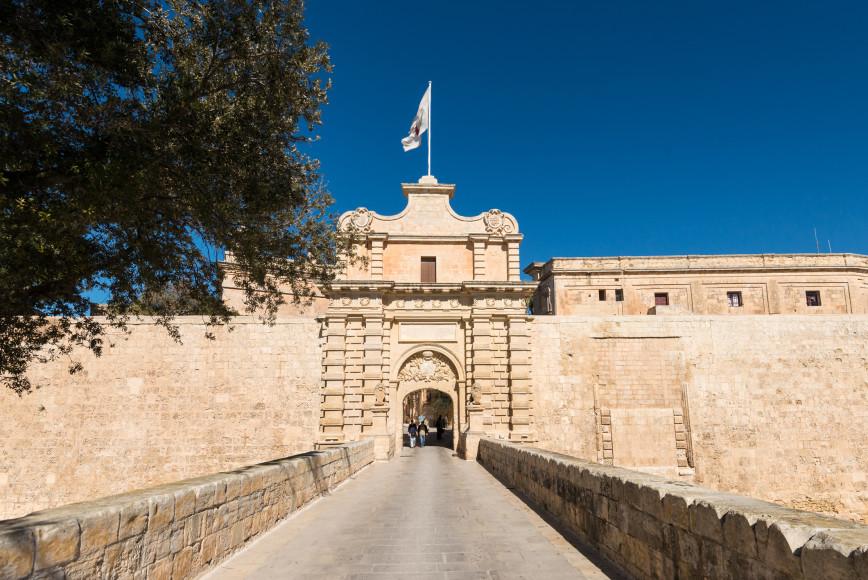 Городские ворота Мдины