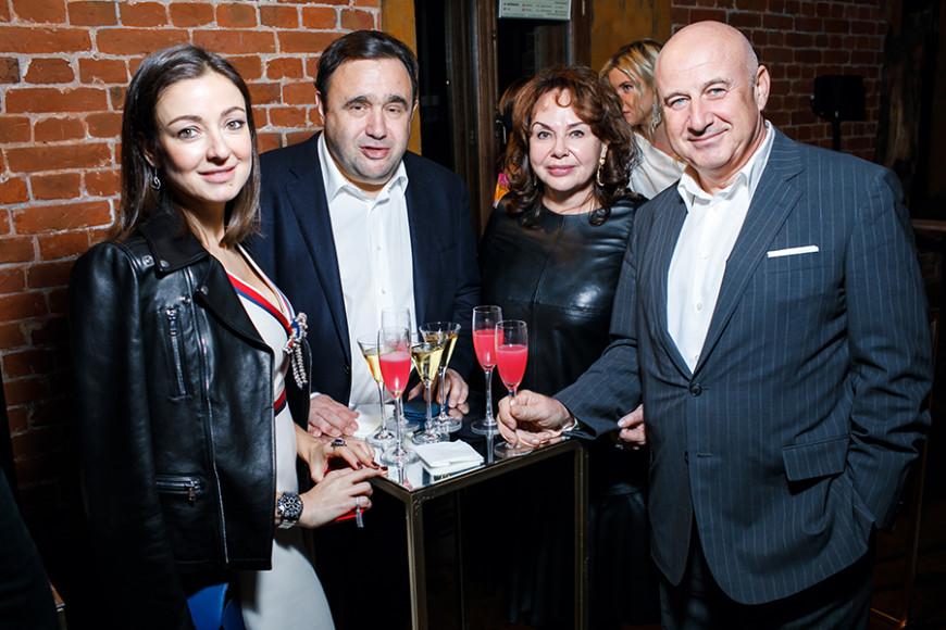 Ирина Вольская, Александр Раппопорт, Марина Раппопорт, Марк Гарбер
