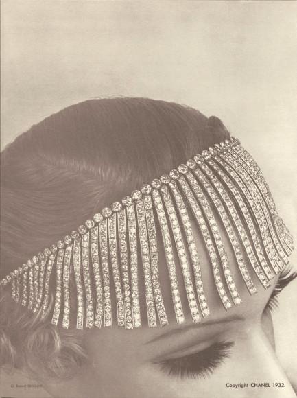 Колье Franges из коллекции Bijoux de diamants, созданной Шанель, 1932 год
