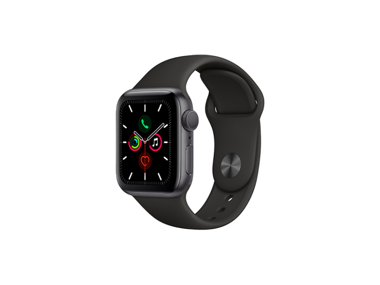 Смарт-часы Apple Watch S5, 34990 руб. (магазины «М.Видео»)
