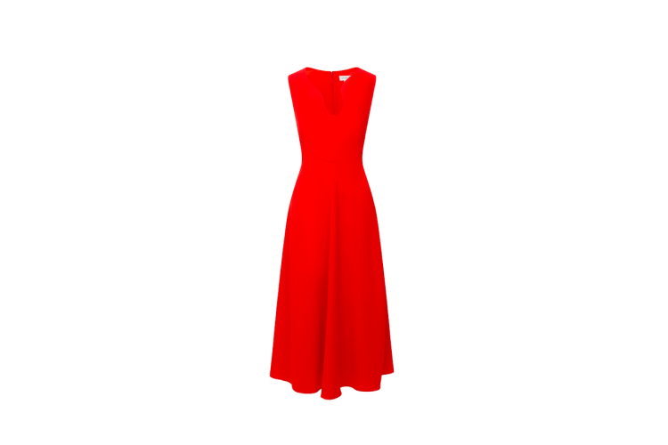 Платье Victoria Beckham, 137 500 руб. (ЦУМ)
