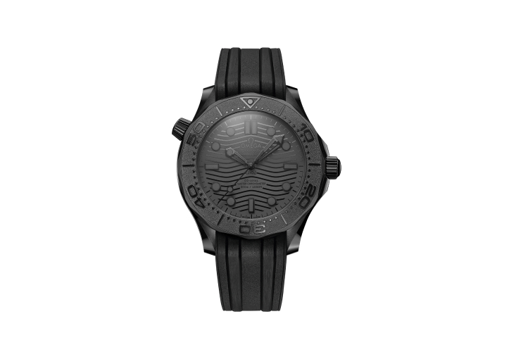 Часы Seamaster Diver 300M Black Black, Omega