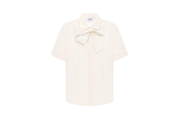 Хлопковая блузка Aletta, 8455 руб. (ЦУМ)