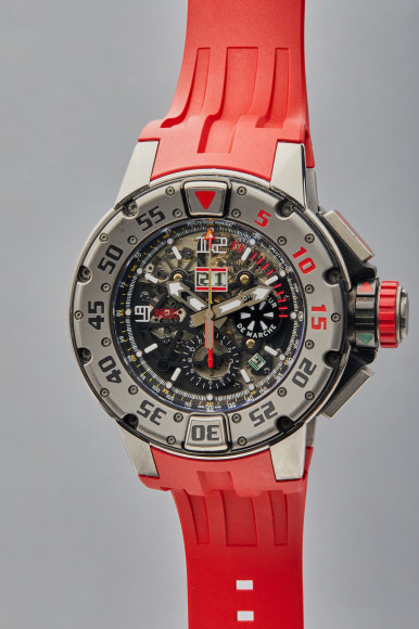 Часы Automatic Winding Flyback Chronograph Diver, Richard Mille. Эстимейт$60–120 тыс.