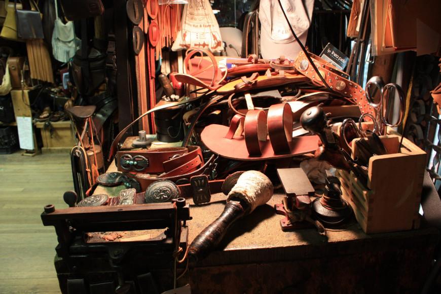 Магазин Native Leather, Нью-Йорк