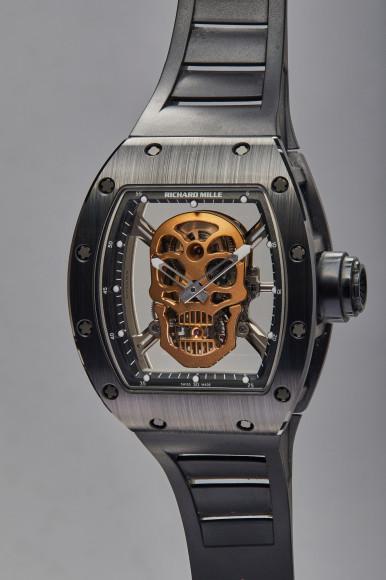 Часы Skull,Richard Mille. Эстимейт$350–700 тыс.